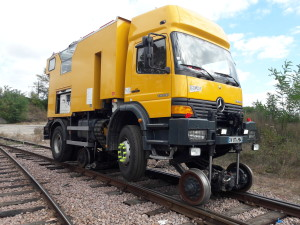 Camion SNCF