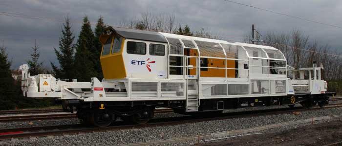 Pousseur de rail ETF