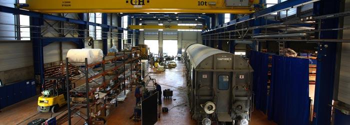 atelier reparation ferroviaire