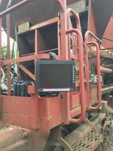 écran contrôle vidéo ballastière