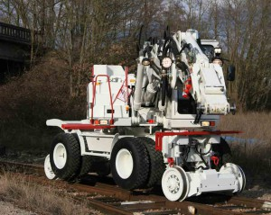 pelle rail route atlas 1404 zw hydro