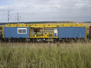 remanufacturing wagon echafaud lateral