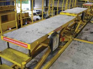 remanufacturing wagon echafaud passerelle