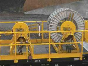 remanufacturing wagon enrouleur cable