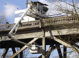 retrofit nacelle ferroviaire inspection pont