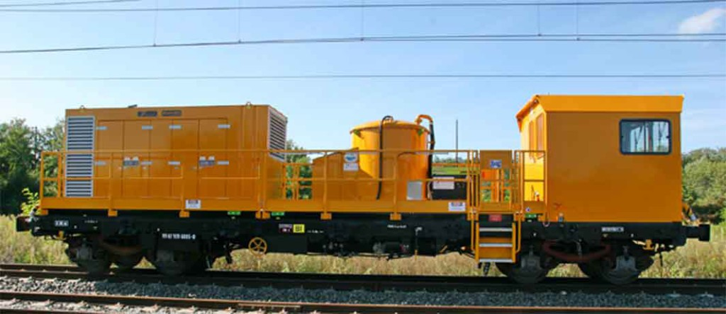 wagon laveur de rail HP