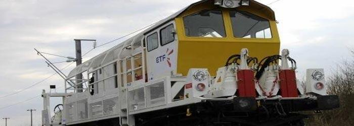 wagon pousseur de rail